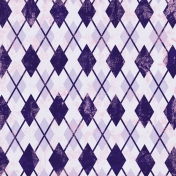 Argyle 18 Paper - Purple