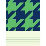 Oceanside Journal Cards- Houndstooth