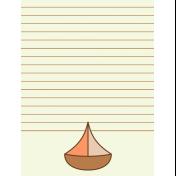 Oceanside Journal Cards- Sail Boat