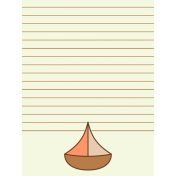 Oceanside Journal Cards- Sail Boat