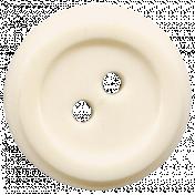 Oceanside Button- White