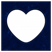 Oceanside Frame- Heart
