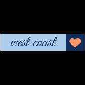 Oceanside Label- West Coast