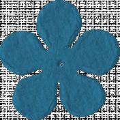 Paper Flower 2- Blue