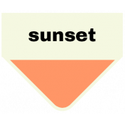Oceanside- Sunset Label