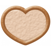 Oceanside Shape- Two Tone Heart