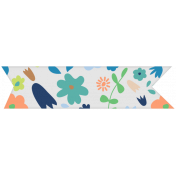 Oceanside Washi- Floral