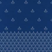 Oceanside- Sailboat Paper