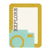 Explore Journaling Card