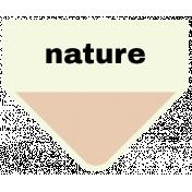 Oceanside- Nature Label