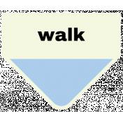 Oceanside- Walk Label