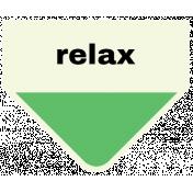 Oceanside- Relax Label