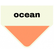Oceanside- Ocean Label