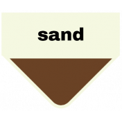 Oceanside- Sand Label