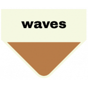 Oceanside- Waves Label