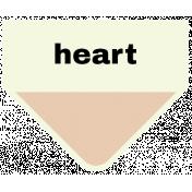 Oceanside- Heart Label
