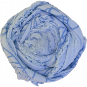 Coastal Fabric Flower- Blue