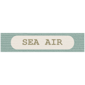 Coastal Label- Sea Air