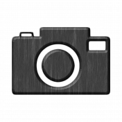 Gray Chipboard Camera