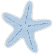 Coastal Starfish- Blue