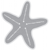 Coastal Starfish- Gray