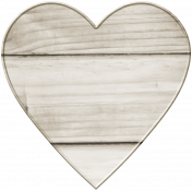 Coastal Heart Wooden