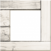 Coastal Wooden Frame Square