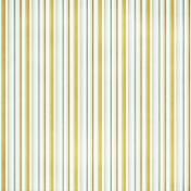Stripes 93 Paper- White, Teal & Yellow