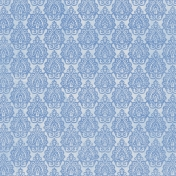 Coastal- Damask Paper- Medium