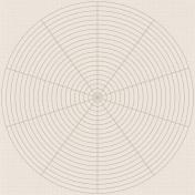 Coastal- Circle Paper- Gray
