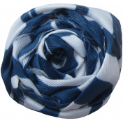 At The Farm Fabric Flower- Blue
