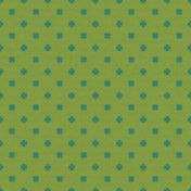 Green Floral Paper
