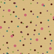 Gold Polka Dot Paper (Enchanted)