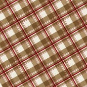 At The Farm- Plaid Paper- Diagonal