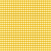 At The Farm- Plaid Paper- Yellow