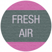 Earth Day- Fresh Air Label
