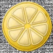 Sunshine & Lemons Felt- Lemon Yellow