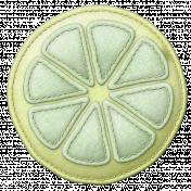 Sunshine & Lemons Felt- Lemon Green