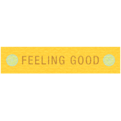 Sunshine & Lemons Label- Feeling Good