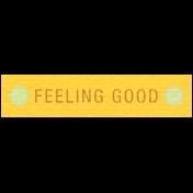 Sunshine & Lemons Label- Feeling Good