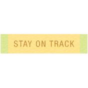 Sunshine & Lemons Label- Stay On Track
