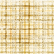 Plaid 36 Paper- Yellow