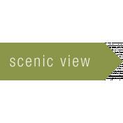 Scenic View Label (Right)