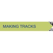 Making Tracks Label (Right)