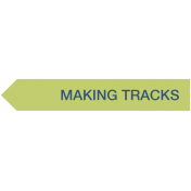 Making Tracks Label (Left)