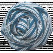 Fabric Flower 033- Hello