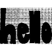 Hello Word Art- Hello