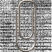 Paper Clip 5- Light Gray