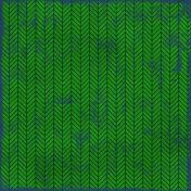 Chevron 11- Green & Navy