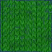 Chevron 11- Green & Navy